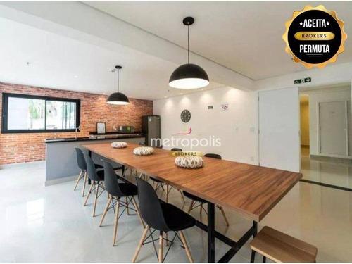 Imagem 1 de 18 de Studio Com 1 Dormitório À Venda, 44 M² Por R$ 319.000,00 - Santa Paula - São Caetano Do Sul/sp - St0026