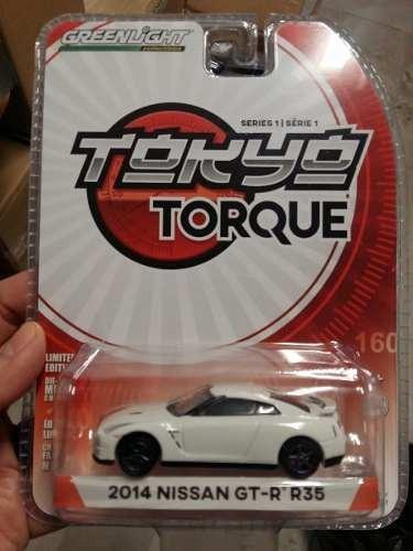 Greenlight - Tokyo Torque - 2014 Nissan Gt-r R35 1:64