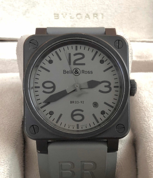 Bell & Ross Br03 Gris Automatico
