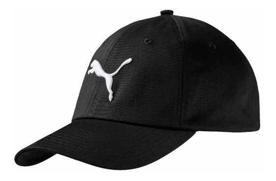 Gorro Puma Clásico Cap Negro Con Velcro