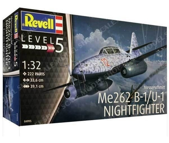 Me262 B-1/u-1 Nightfighter 1/32 Marca Revell