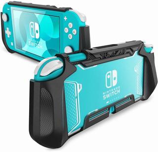 Funda De Agarre P/nintendo Switch Lite 2019 Console Mumba Bl