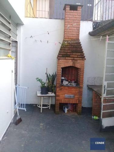 Imagem 1 de 15 de Sobrado Residencial Para Comprar No Campo Belo Com 3 Quartos - Ca1185