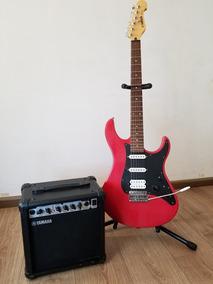 Guitarra Eléctrica Yamaha Eg112c Y Amplificador 19w