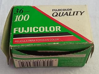 Cajita Vacia De Rollo Foto 35mm Fujicolor Retro