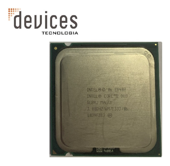 Intel Core 2 Duo E8400 Slb9j 3.00ghz Para Desktop