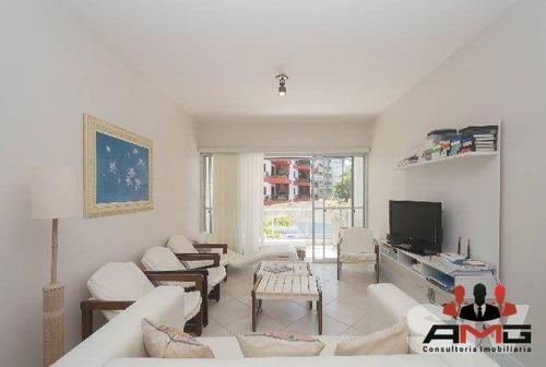 Apartamento Com 3 Dormitórios À Venda, 115 M² Por R$ 2.600.000,00 - Riviera - Módulo 4 - Bertioga/sp - Ap2458
