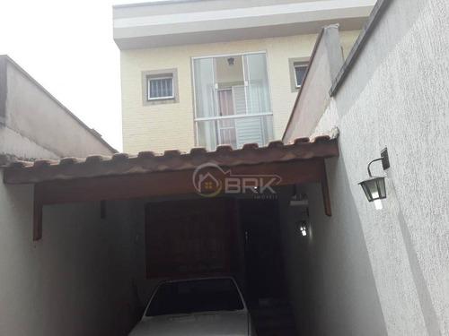 Sobrado Jardim Nordeste 2 Dormitórios Sendo 2 Suítes, 2 Vagas, 95 M² - So0780