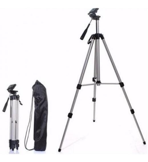 Tripé Celular Profissional Camera Gopro 1,40m Universal