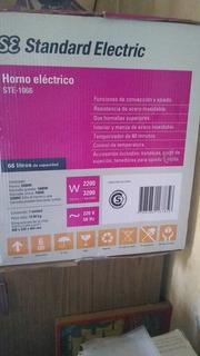 Horno Eléctrico 66 Litros Standar Electric Ste-1066