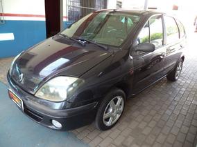 Renault Scenic Rt 1.6 16v 2003 Cinza Gasolina