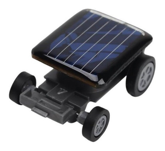 Mini Carro Solar - Movido A Energia Solar
