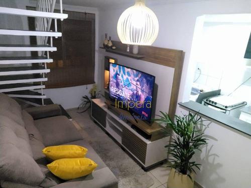 Imagem 1 de 30 de Apartamento Duplex Ed Campo Lazio Com 3 Dormitórios À Venda, 127 M² Por R$ 280.000 - Bosque Dos Eucaliptos - São José Dos Campos/sp - Ad0004