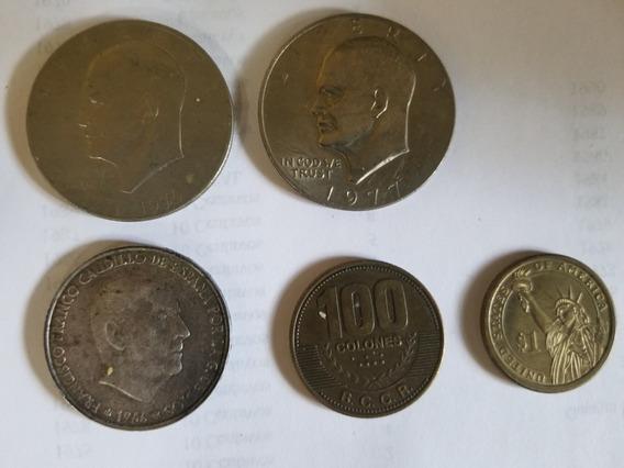 Monedas Dominicanas Y Extranjeras