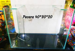 Pecera 40x30x20 3mm Acuario 24 Litros