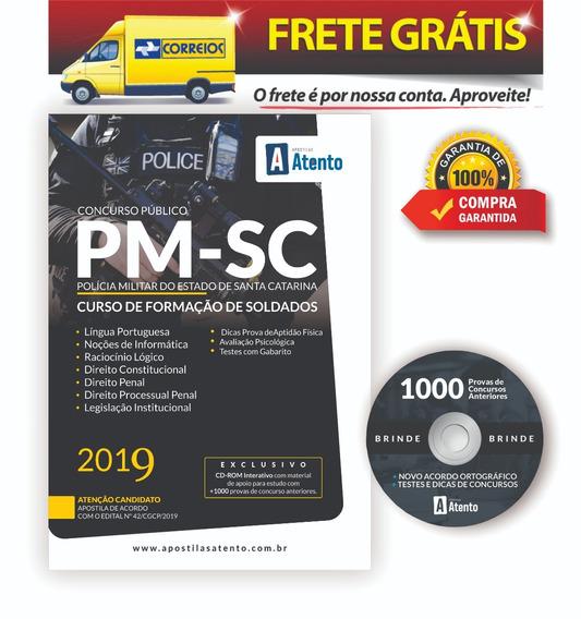 Apostila Pm-sc Soldado - ( Edital 2019 )