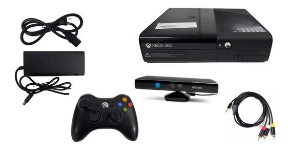 Xbox 360 Completo Kinect Y 10 Juegos 250gb