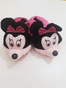 Pantufas Disney Pluto Minie Mickey Super Confortável