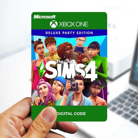 The Sims 4 Edição Festa Deluxe - Cartão 25 Dígitos Xbox One