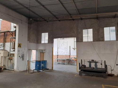Galpão Para Alugar, 1400 M² Por R$ 12.000,00/mês - Vila Sacadura Cabral - Santo André/sp - Ga0425