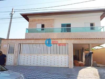 Casa De Condominio Tipo Sobreposta Com 2 Dormitórios 1 Vaga De Garagem - No Tude Bastos - Nova - Aceita Financiamento Bancário - Ca0037