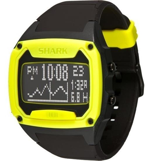 Relógio Freestyle Killer Shark Tide - Preto/amarelo