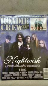 Nightwish 3 Revistas Roadie Crew Com Poster Frete Grátis