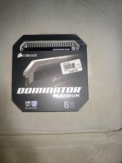 Memória Ram Corsair Dominator Platinum 2x4gb Ddr3 1866mhz
