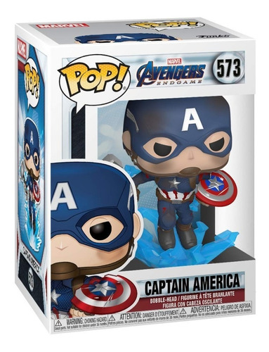 Funko Pop! Endgame Captain America W Broken Shield & Mjoinir