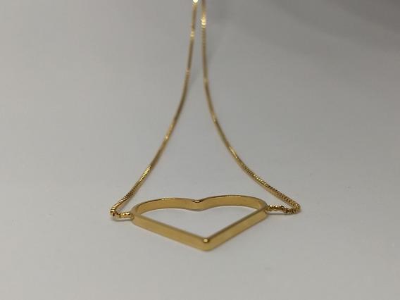 Colar Coração Alado - 1 Ano De Garantia