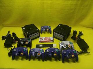 Consola Gamecube Con 1 Control, Memoria Y 1 Juego A Escoger