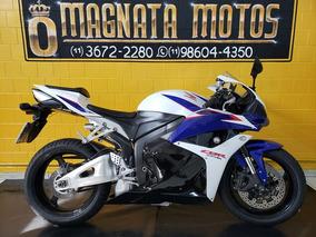 Honda Cbr 600 Rr - 2011- Branca - Km 26.000- 1197740-1073