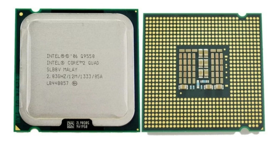 Processador Intel Core 2 Quad Q9550 12mb 2.8ghz + Gd220