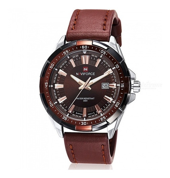 Relógio Militar Luxo Naviforce 9056 Original Promoção,