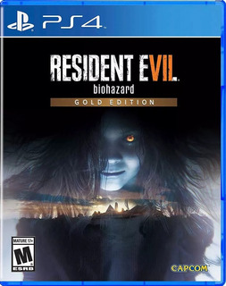 Resident Evil 7 Gold Ps4 Biohazard Juego Playstation 4