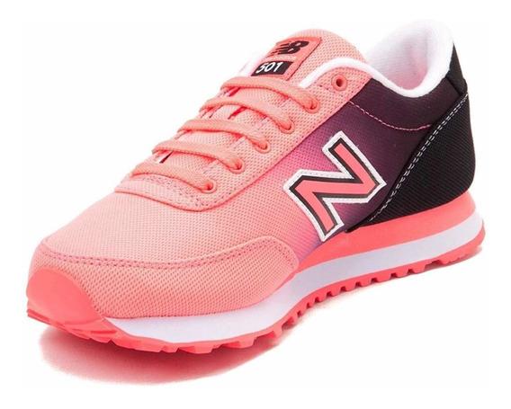 New Balance 501 - Zapatillas New Balance Mujer Rosa/negro