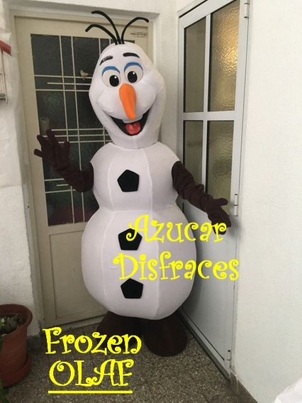 Frozen Olaf Disfraz Cabezon Olaf Alq