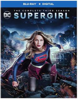 Blu-ray Supergirl Season 3 / Temporada 3