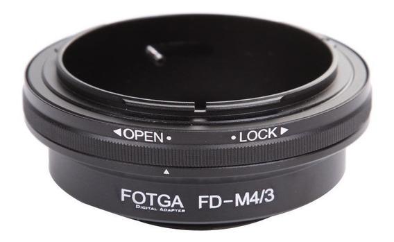 Adaptador Lente Canon Fd M4/3 Panasonic Olympus Gh3 Gh4 Gh5