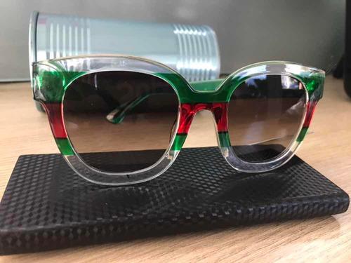 83ee52aaa Oculos Gucci Feminino Espelhado Colorido - Óculos De Sol no Mercado ...