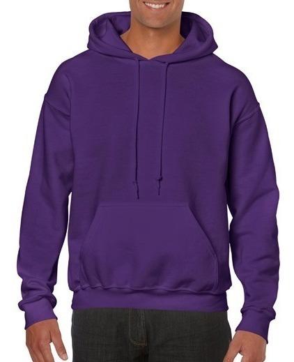 Sudadera Purpura Con Capucha Adulto