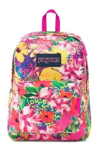 Mochila Jansport Color Supearbreak Tropical Mania