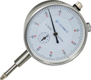 Relógio Comparador 0 A 10mm C/ Graduação De 0,01mm Mrc-10