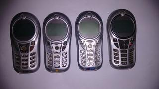 Celular Motorola C 115 No Estado Lote Com 4 E Sem Bateria