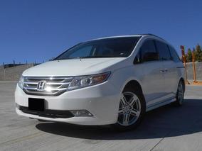 Honda Odyssey 3.5 Touring Minivan Cd Qc Dvd At 2011 Blanco