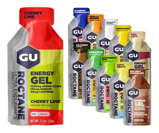 Gu Energy Roctane Gel - Con O Sin Cafeina. Original Usa X24u