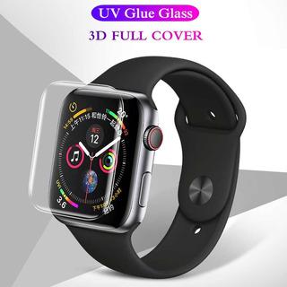 Vidrio Templado Simil Dome Glass Apple Watch 44/40 Pega Todo