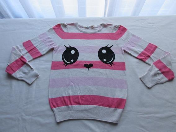 Sweaters De Hilo De Algodón Para Nena, Marca Europea!, Impec