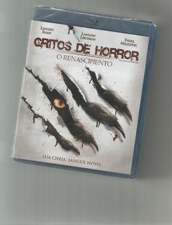 Blu-ray Gritos De Horror Lacrado