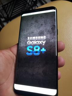 Celular Samsung Galaxy S8 Plus Com Burn-in...bem Pouco